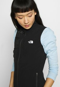 The North Face - WOMENS LIGHTNING TECH VEST - Waistcoat - tnf black - 4