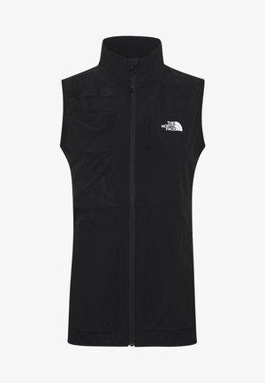 WOMENS LIGHTNING TECH VEST - Waistcoat - tnf black