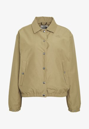 WOMEN'S COACH JACKET - Outdoorjacka - kelp tan