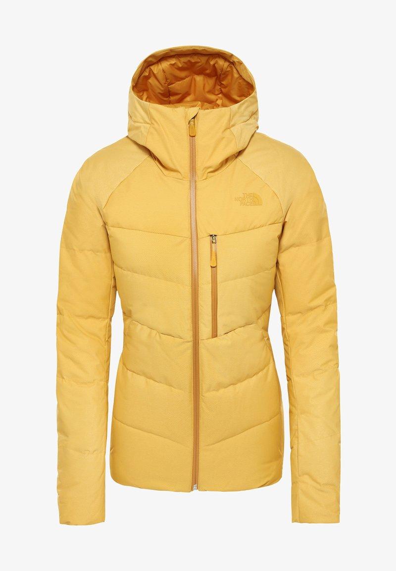The North Face - Gewatteerde jas - yellow