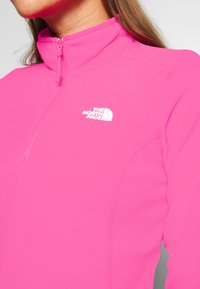 The North Face - WOMENS 100 GLACIER 1/4 ZIP - Bluza z polaru - mr pink - 5