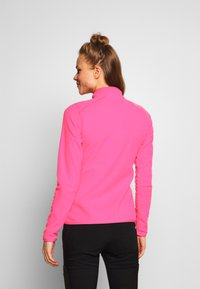 The North Face - WOMENS 100 GLACIER 1/4 ZIP - Bluza z polaru - mr pink - 2