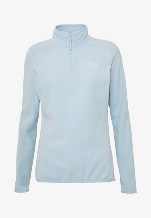 WOMENS 100 GLACIER 1/4 ZIP - Fleece jumper - falls blue