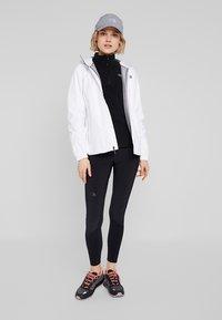 The North Face - WOMENS 100 GLACIER 1/4 ZIP - Fleece jumper - black - 1