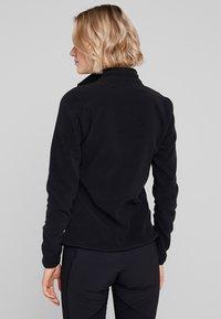 The North Face - WOMENS 100 GLACIER 1/4 ZIP - Fleece jumper - black - 2