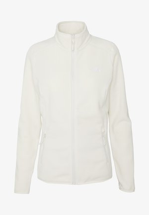 WOMENS GLACIER FULL ZIP - Fleecejakke - vintage white
