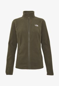 The North Face - WOMENS GLACIER FULL ZIP - Fleecejakke - new taupe green - 4