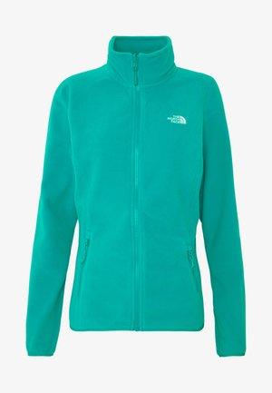 WOMENS GLACIER FULL ZIP - Fleece jacket - jaiden green