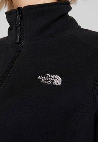 The North Face - WOMENS GLACIER FULL ZIP - Fleecejas - black - 6