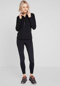 The North Face - WOMENS GLACIER FULL ZIP - Veste polaire - black - 1