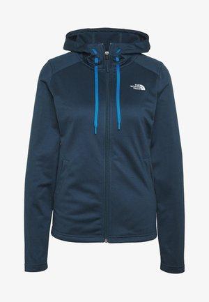 WOMENS TECH MEZZALUNA HOODIE - Fleece jacket - blue wing teal