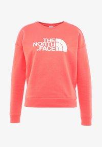 The North Face - DREW PEAK CREW - Sweatshirt - spiced coral - 3