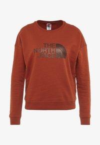 The North Face - DREW PEAK CREW - Sweatshirt - picante red - 4