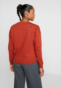 The North Face - DREW PEAK CREW - Sweatshirt - picante red - 2