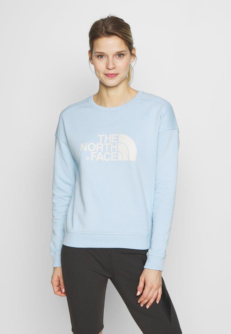 The North Face - DREW PEAK CREW - Sweatshirt - falls blue