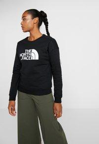 The North Face - DREW PEAK CREW - Sweatshirt - black - 0