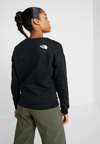 The North Face - DREW PEAK CREW - Sweatshirt - black - 2