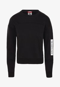 The North Face - W LIGHT CROPPED - Sweater - black - 2