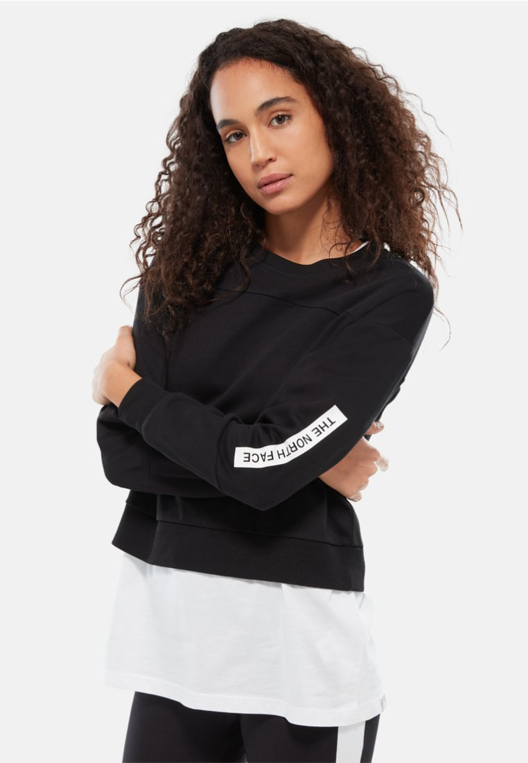 The North Face - W LIGHT CROPPED - Sweater - black