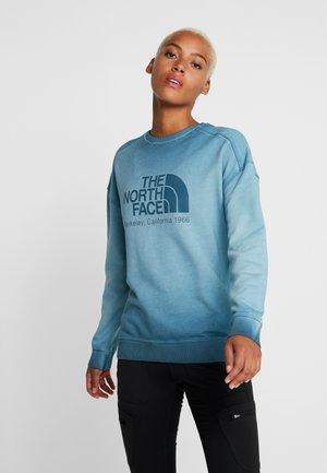 SIERRA CREW  - Sweatshirt - blue coral