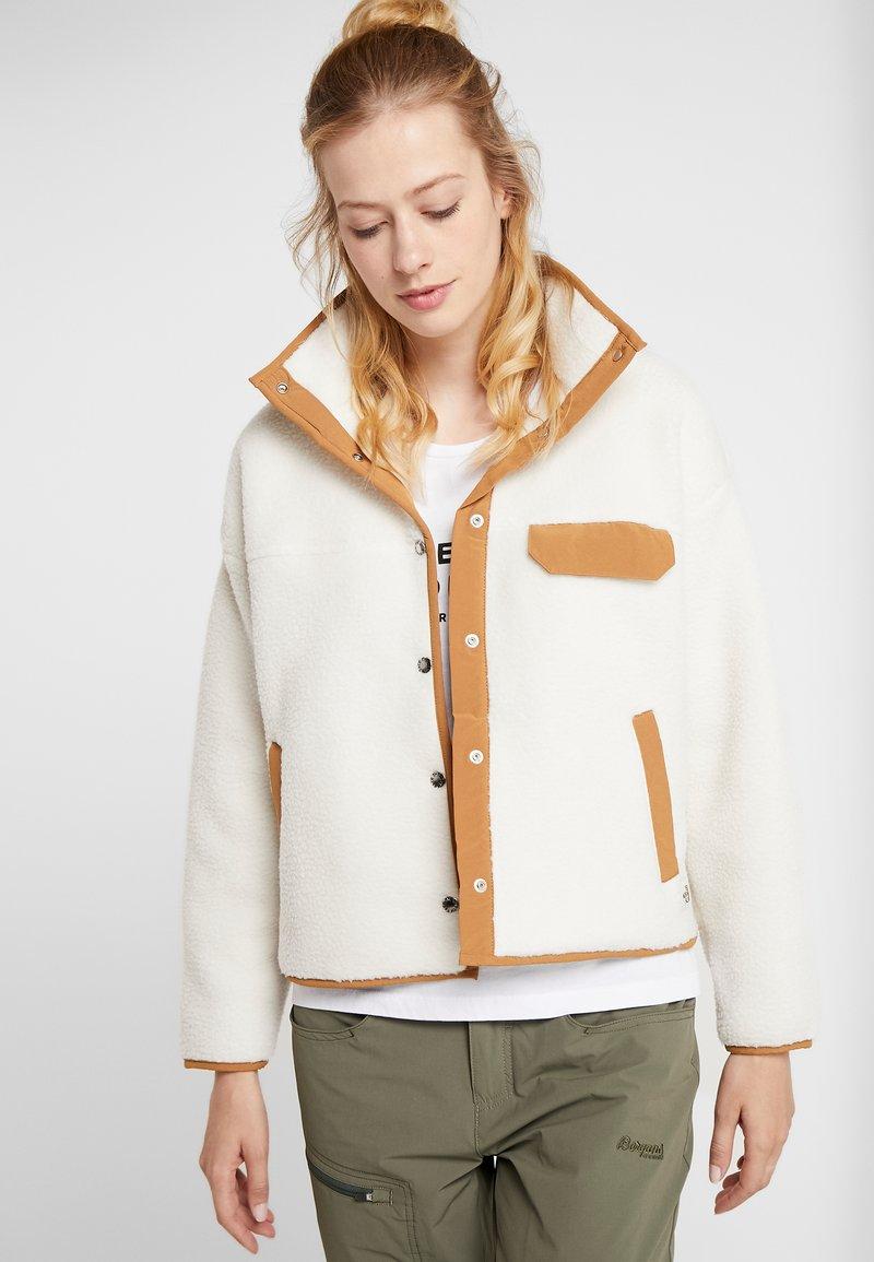 The North Face - CRAGMONT JACKET - Fleecová bunda - vintage white/cedar brown
