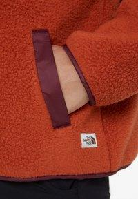 The North Face - CRAGMONT JACKET - Fleecejakke - picante red/deep garnet red - 6