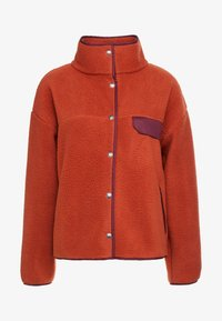 The North Face - CRAGMONT JACKET - Fleece jacket - picante red/deep garnet red - 5