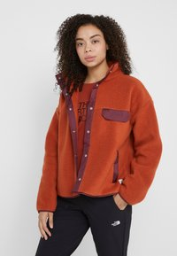 The North Face - CRAGMONT JACKET - Fleece jacket - picante red/deep garnet red - 0