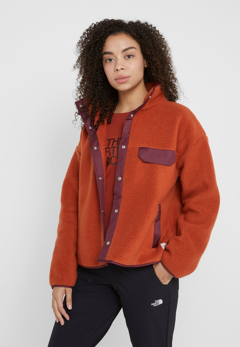 The North Face - CRAGMONT JACKET - Fleecejakker - picante red/deep garnet red