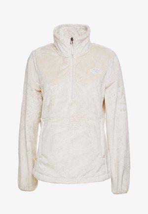 OSITO ZIP - Sweat polaire - vintage white