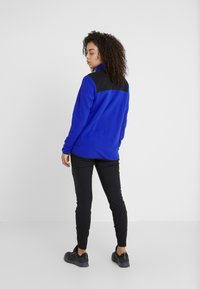 The North Face - GLACIER SNAP NECK  - Fleecetrøjer - blue/black - 2