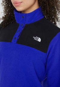 The North Face - GLACIER SNAP NECK  - Fleecetrøjer - blue/black - 6