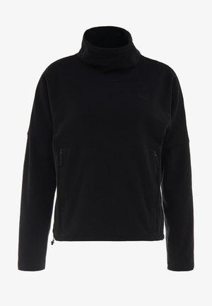 GLACIER FUNNEL NECK - Sweat polaire - black