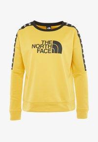 The North Face - CREW - Bluza - yellow - 5