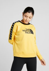 The North Face - CREW - Bluza - yellow - 0