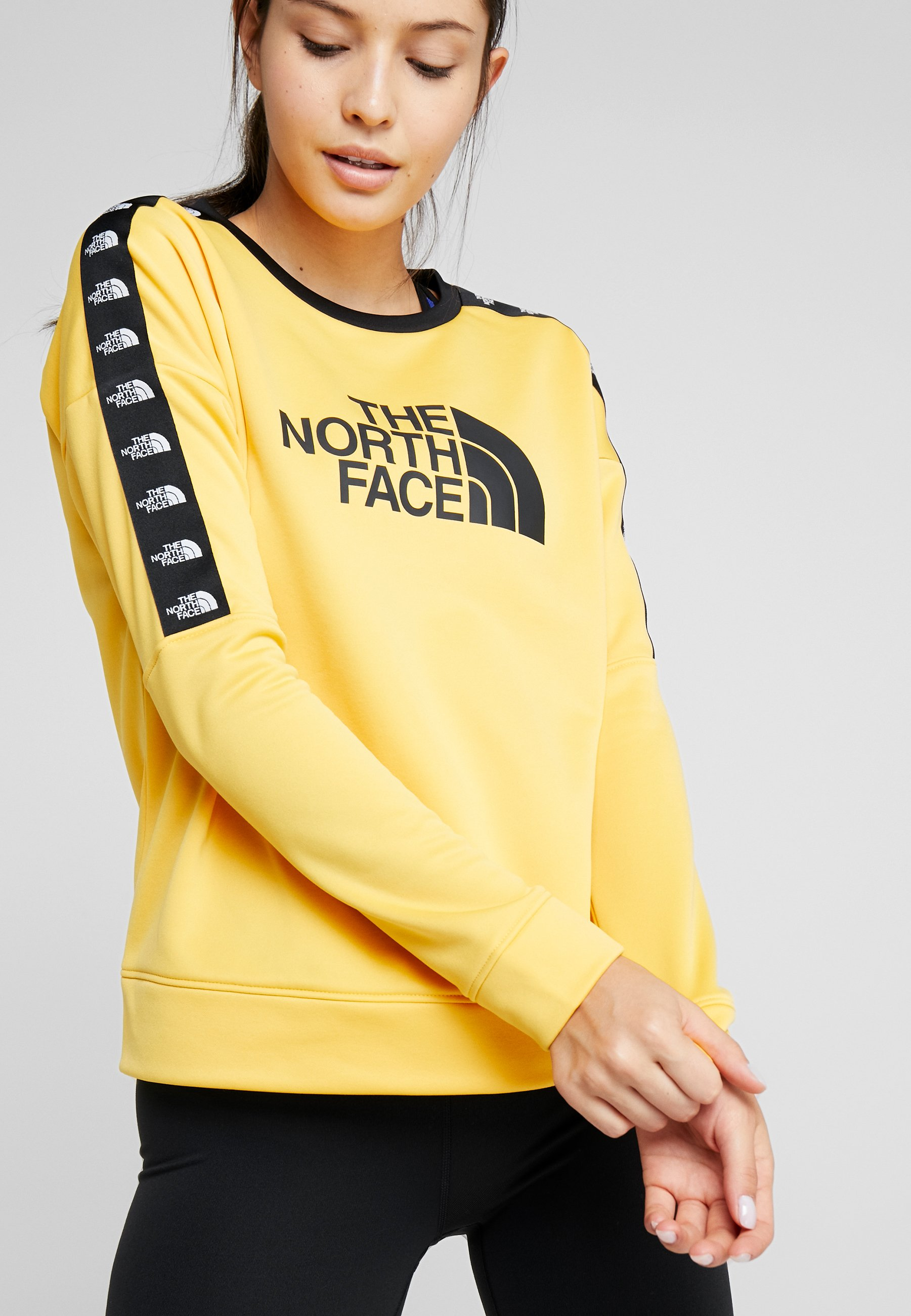 The North Face CREW - Sweatshirt yellow