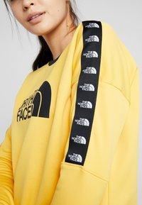 The North Face - CREW - Bluza - yellow - 6