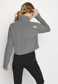 The North Face - GLACIER CROPPED ZIP - Fleece jumper - medium grey - 2