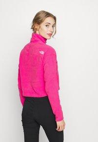 The North Face - GLACIER CROPPED ZIP - Fleece jumper - mr. pink - 2
