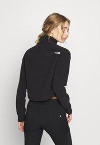 The North Face - GLACIER CROPPED ZIP - Fleece jumper - black - 2