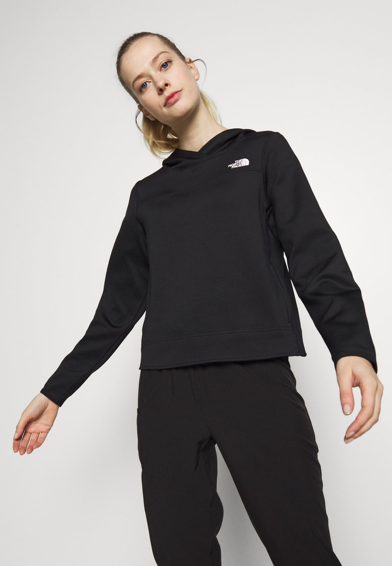The North Face - WOMENS ACTIVE TRAIL SPACER - Treningsskjorter - black