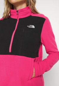 The North Face - WOMENS BLOCKED - Fleece jumper - pink/black - 5