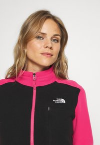The North Face - WOMENS BLOCKED - Fleece jumper - pink/black - 3