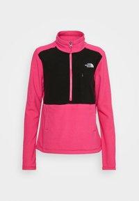 The North Face - WOMENS BLOCKED - Fleecepullover - pink/black - 4