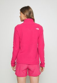 The North Face - WOMENS BLOCKED - Fleece jumper - pink/black - 2