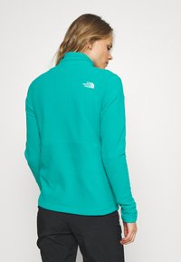The North Face - WOMENS BLOCKED - Fleecová mikina - jaiden green/black - 2