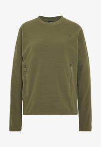 The North Face - WOMENS GLACIER CREW - Fleece trui - burnt olive green - 3