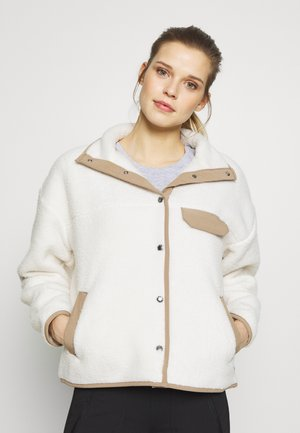 WOMENS CRAGMONT JACKET - Fleecejas - vintage white/kelp tan