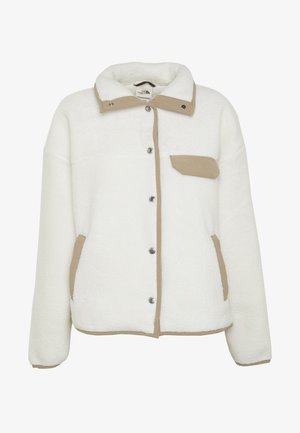 WOMENS CRAGMONT JACKET - Fleece jacket - vintage white/kelp tan