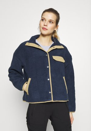 WOMENS CRAGMONT JACKET - Fleecejakke - urban navy/kelp tan
